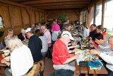 Hmm, waren die Heringe lecker !!! Traditionelles Heringsbraten am Pfingstsonntag.